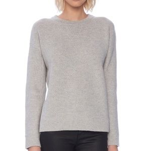 VINCE Wool and Yak Honeycomb Waffle Knit Sweater S
